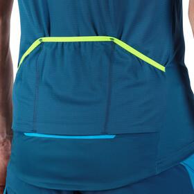 Dynafit Ride Full-Zip Kurzarmshirt Herren blau